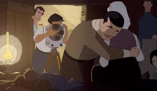"""Fotogramma di: """"Buñuel - Nel labirinto delle tartarughe"""""""